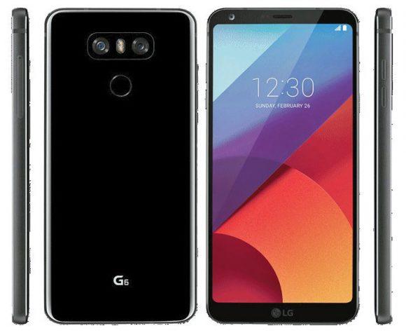 LG G6 render
