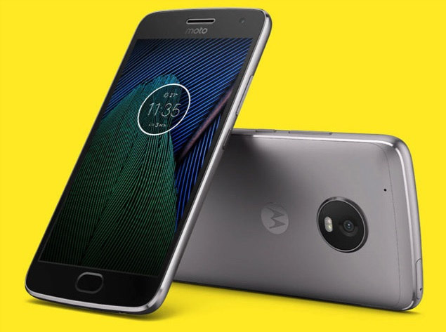 Moto G5 officieel