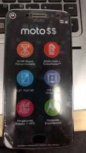 Motorola Moto G5 Plus-scherm