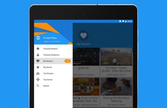 Pocket Plays: Twitch voor Android, maar dan mooier