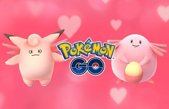 Met het Pokémon GO Valentijnsdag-event kleurt de wereld roze