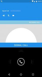 Signal videobellen