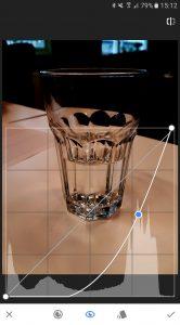 Snapseed Curve-tool