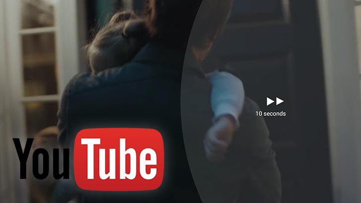 YouTube scrollen