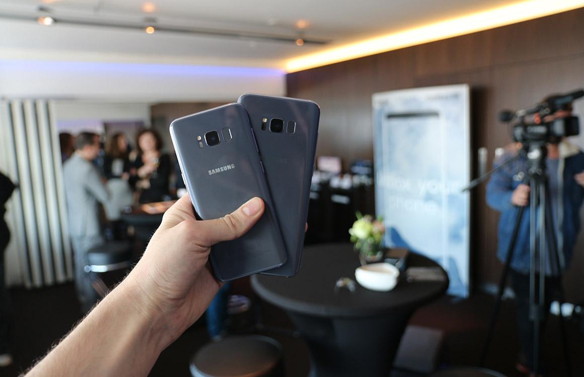 'Genoeg Galaxy S8-smartphones beschikbaar bij lancering'