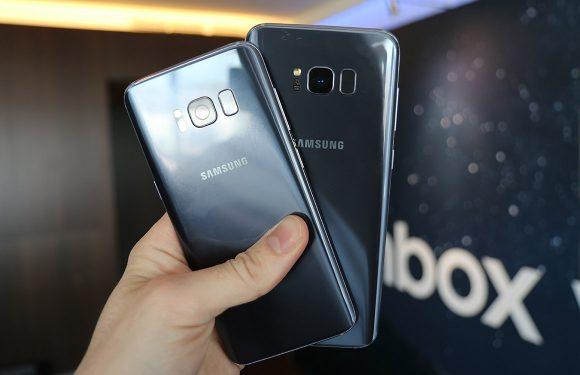 Galaxy S8 Plus-update brengt nieuwe navigatiebalk en betere beveiliging