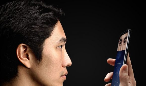 Samsung Galaxy S8 irisscanner