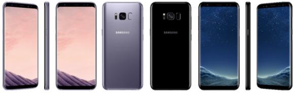Meer Galaxy S8 kleuren