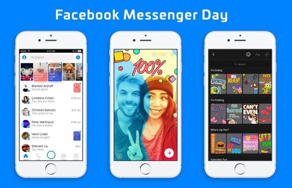 Zo werkt Messenger Day, Facebook's nieuwe Snapchat-alternatief