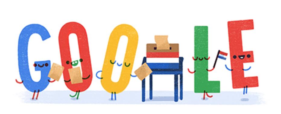 google verkiezingen