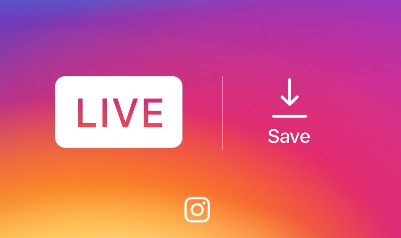 instagram livestream opslaan