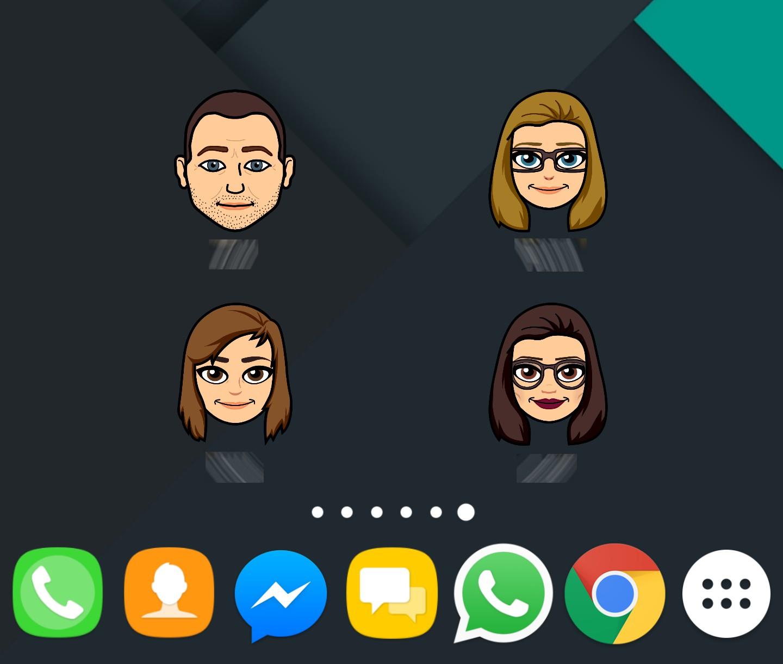 Snapchat Bitmoji-widgets