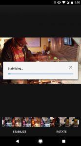 Google Foto's beeldstabilisatie
