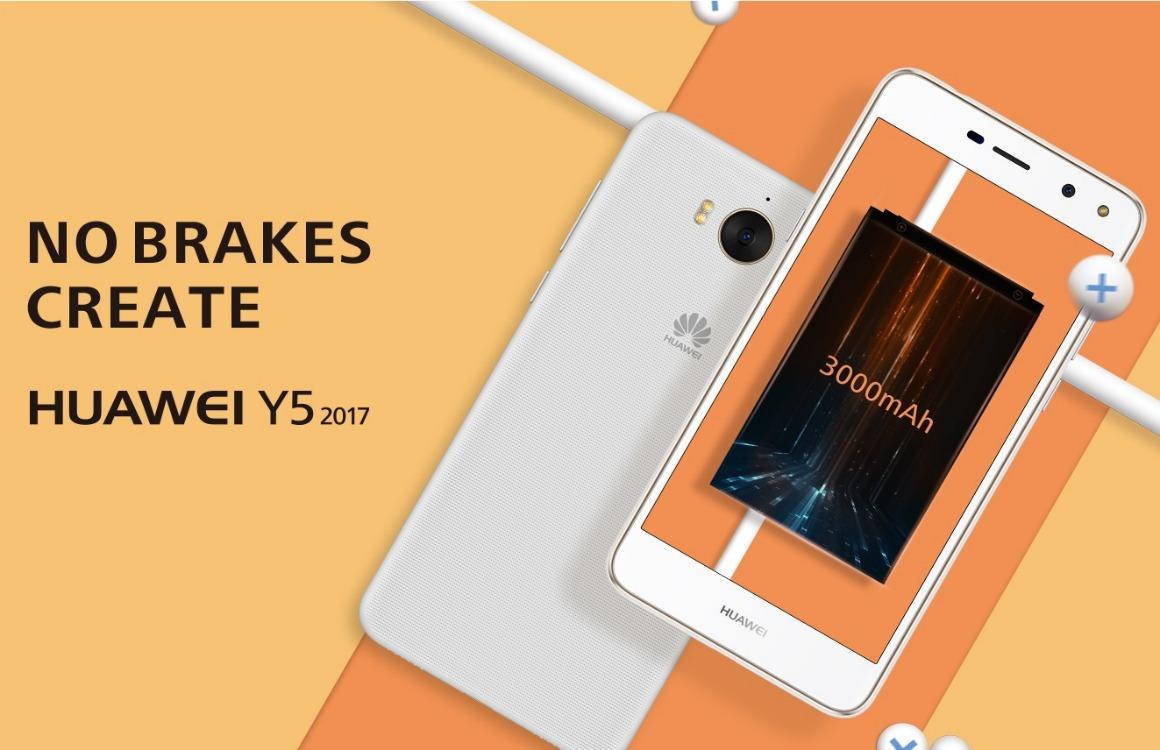 Huawei's nieuwe budgetsmartphone heeft grote accu, oude software