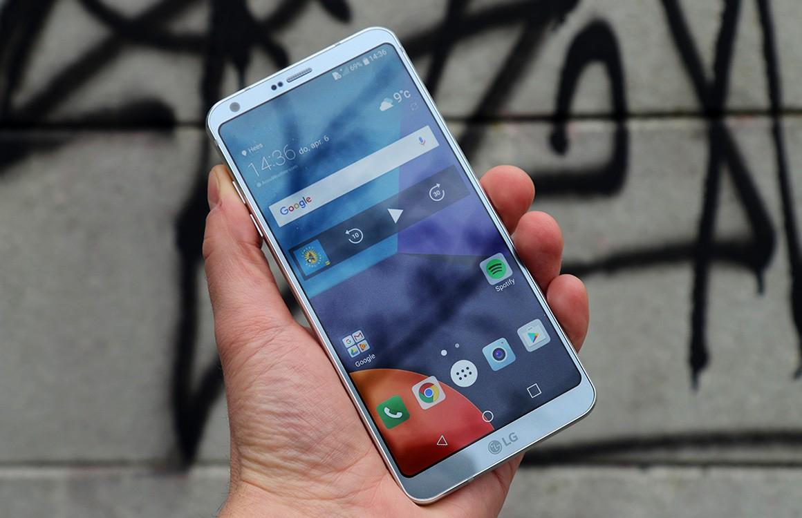 LG geeft slechts vier smartphones een Android Oreo-update