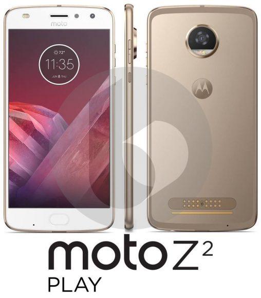 Lenovo Moto Z Play 2 render