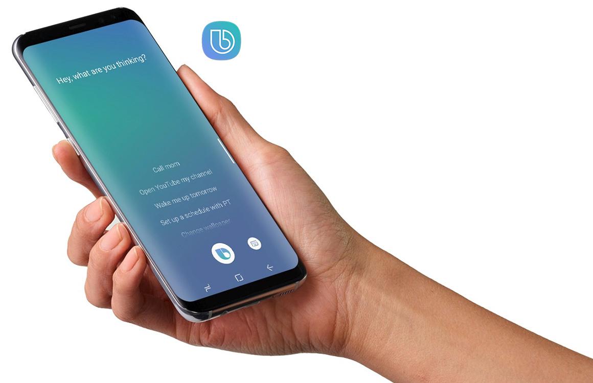 Samsung blokkeert apps die Bixby-knop Galaxy S8 aanpassen