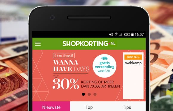De Shopkorting-app geeft korting op je online aankopen (ADV)
