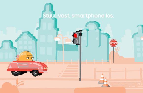 Samsung wil met nieuwe app verkeersveiligheid vergroten