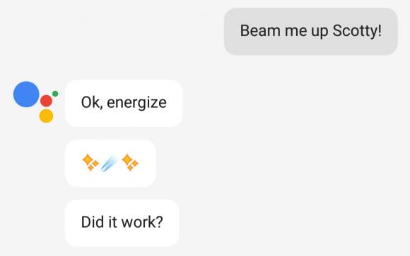 grappige google assistant-antwoorden