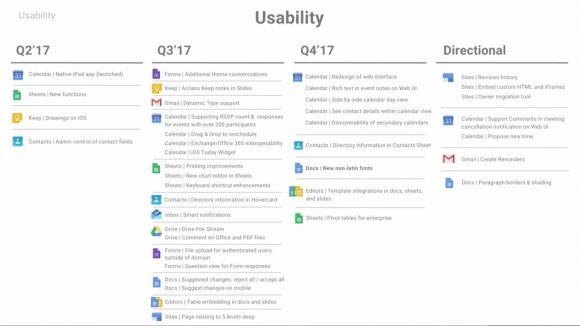 Google Agenda redesign