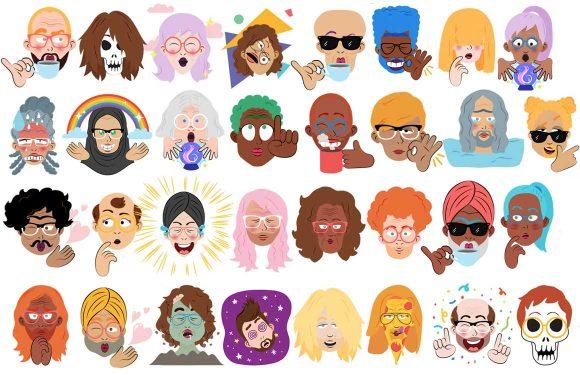 Zo maak je stickers van een selfie in Google Allo