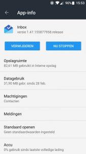 app meldingen uitzetten