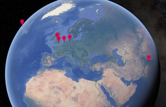 Reis door de geschiedenis van The Beatles met Google Earth Voyager