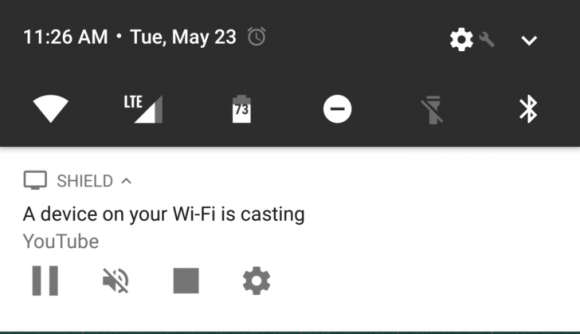 Google Cast-notificaties