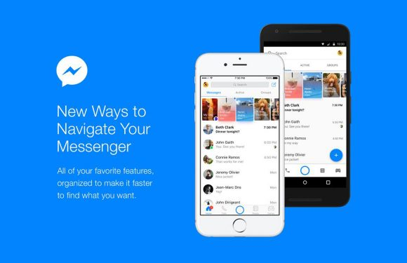 Facebook stroomlijnt interface van Messenger-app