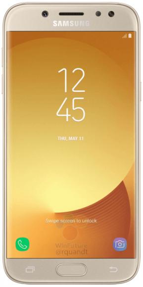 Samsung Galaxy J5 (2017) foto's