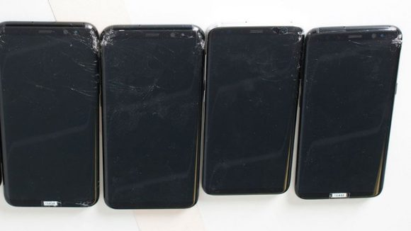 Samsung Galaxy S8 valtest