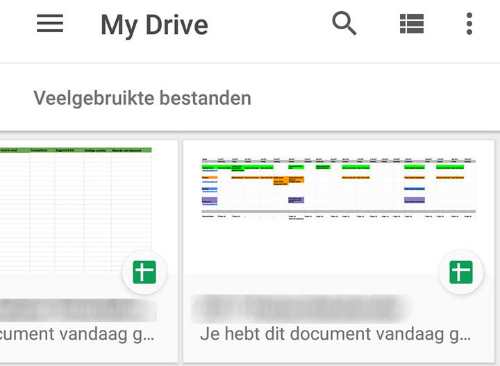 dit zijn de 7 beste functies van de google drive app. Black Bedroom Furniture Sets. Home Design Ideas