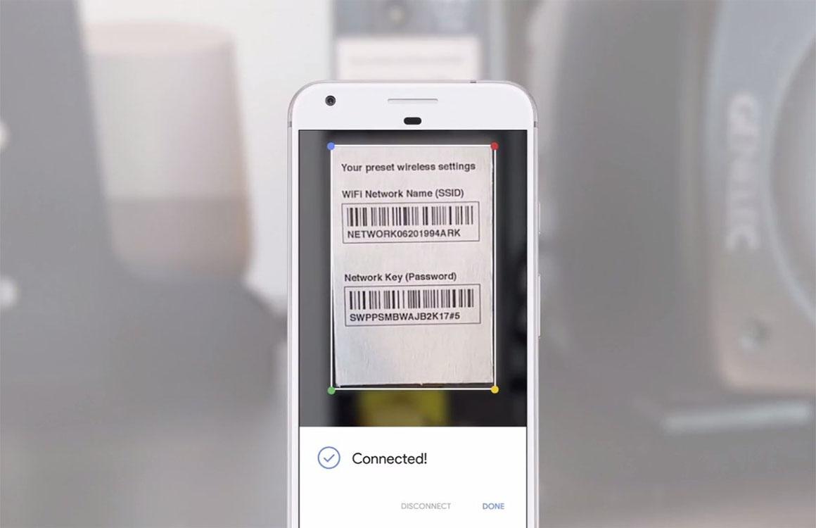 Beeldherkenningssoftware Google Lens eerst naar Pixel 2