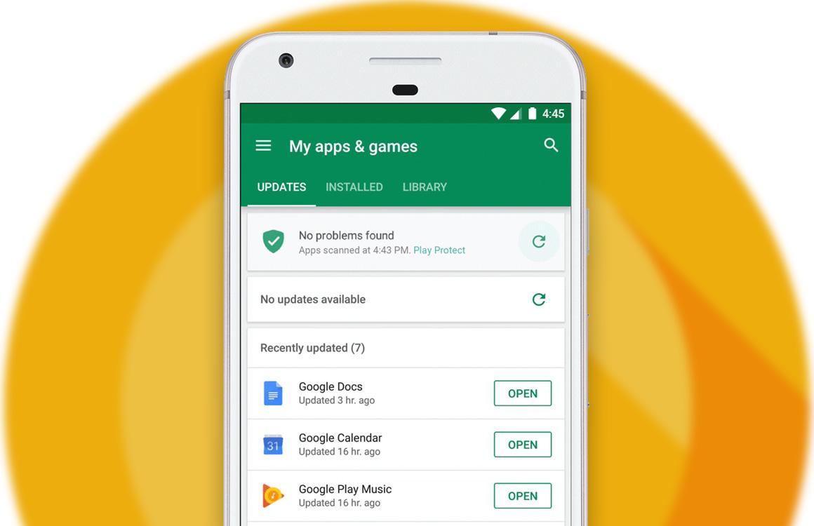 Onderzoek: 'Google Play Protect is zo lek als een mandje'