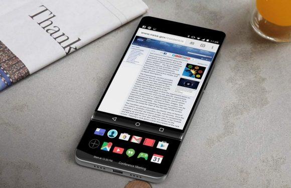 'LG voorziet V30 van uitschuifbaar tweede scherm'