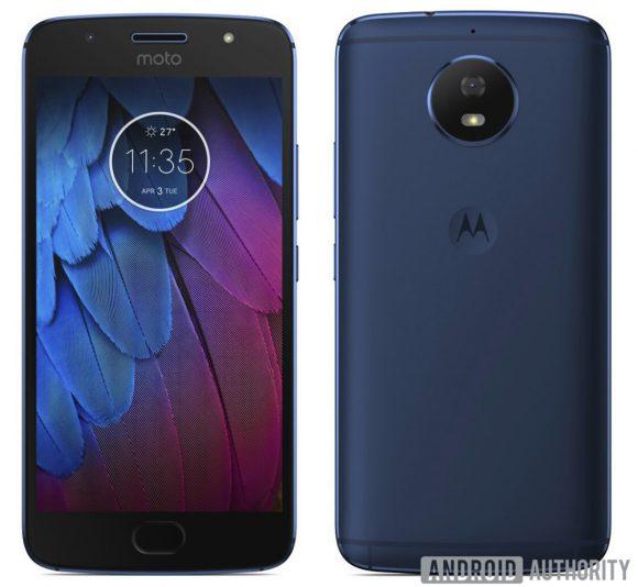 Motorola Moto G5S foto's