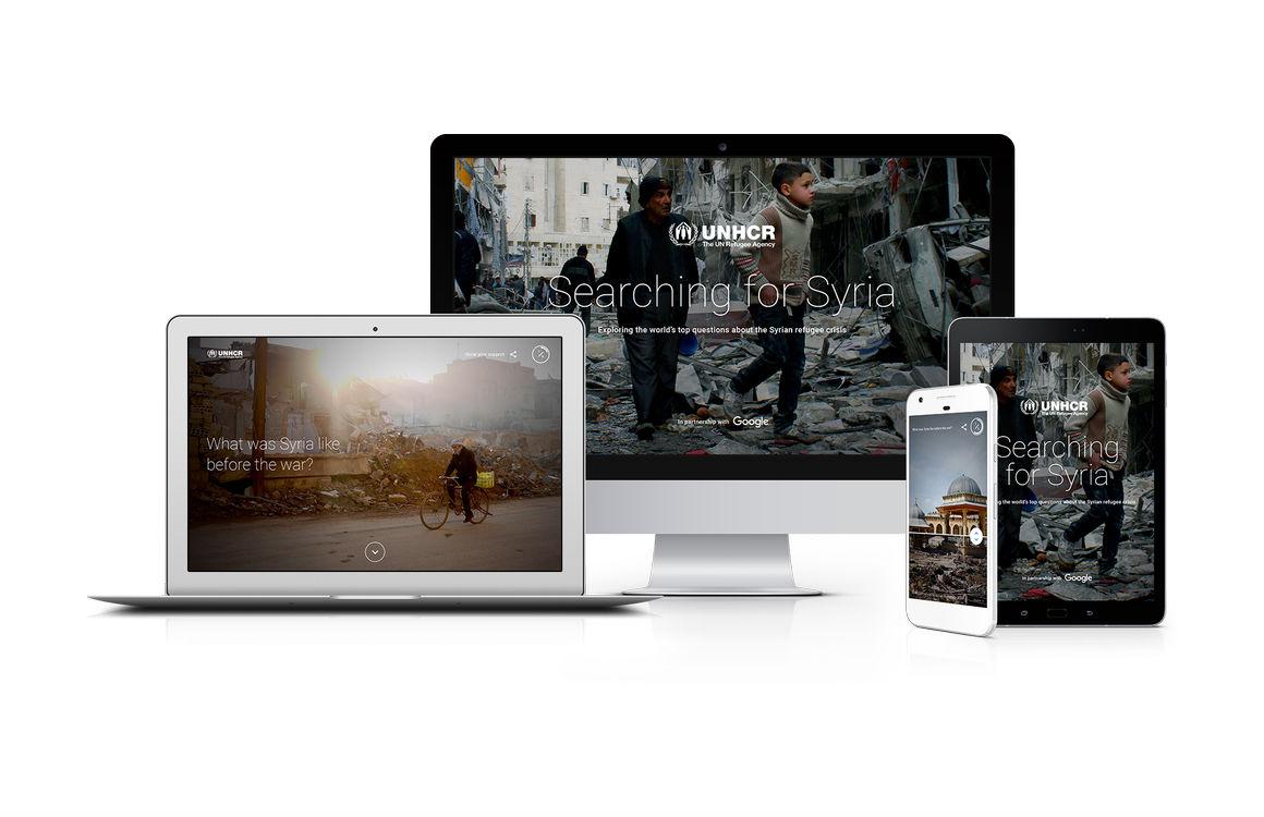 Google maakt indrukwekkende website over Syrische burgeroorlog