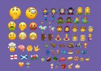 Deze 56 nieuwe emoji staan binnenkort op je smartphone