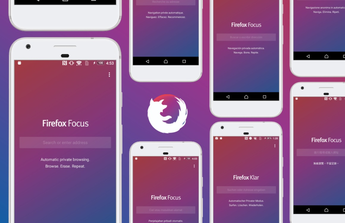 Firefox Focus is een anoniemere browser voor je Android