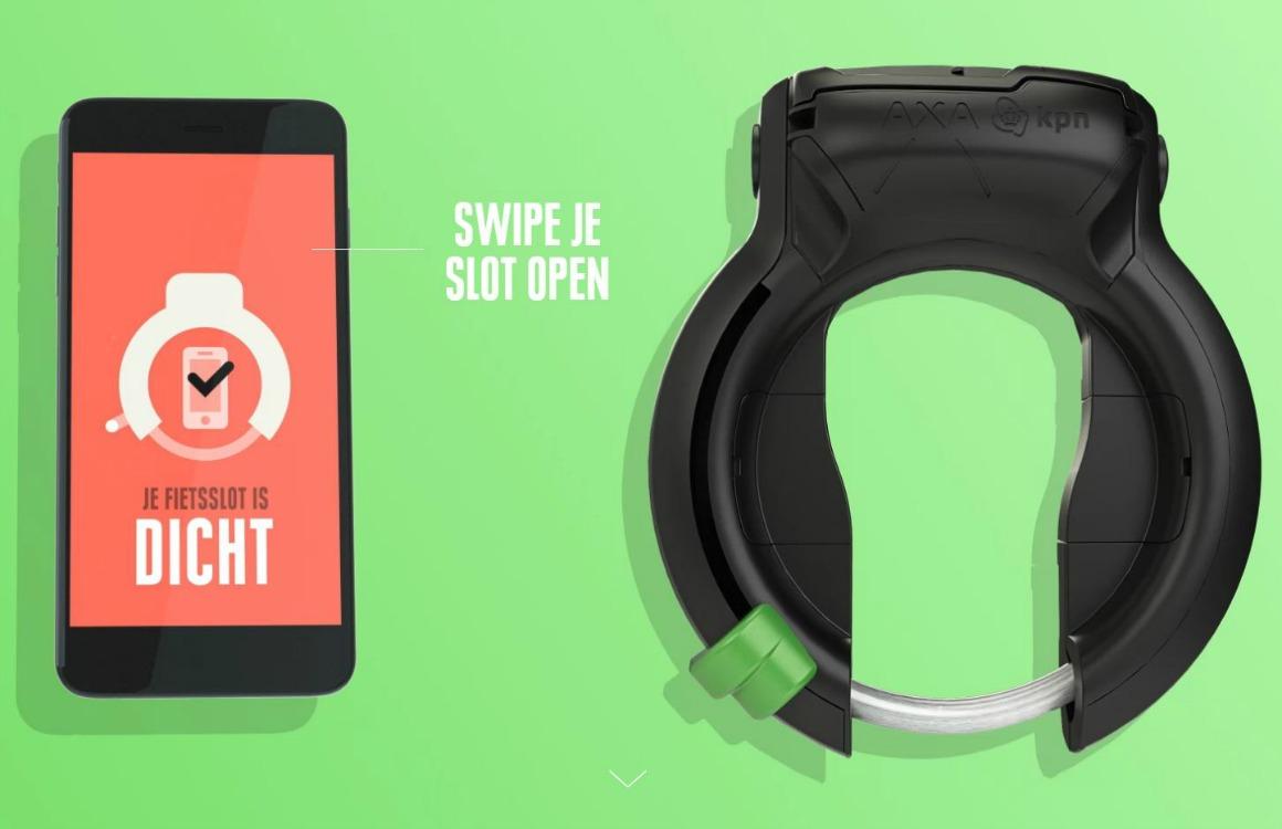 Dit fietsslot van KPN vergrendelt automatisch je smartphone