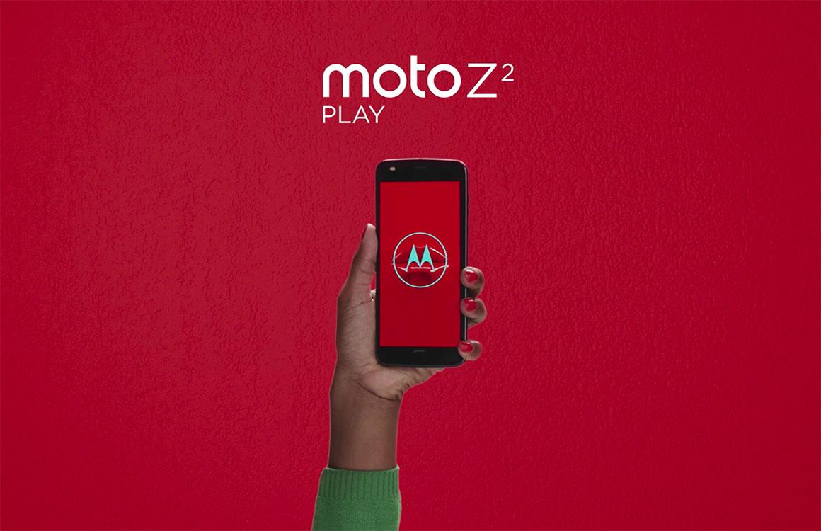 Lenovo brengt Moto Z2 Play met nieuwe Moto Mods naar Nederland