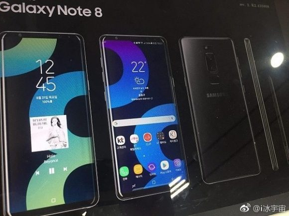 galaxy note 8-poster