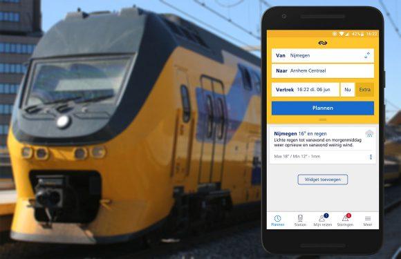 NS Reisplanner Xtra-update maakt app mooier en persoonlijker
