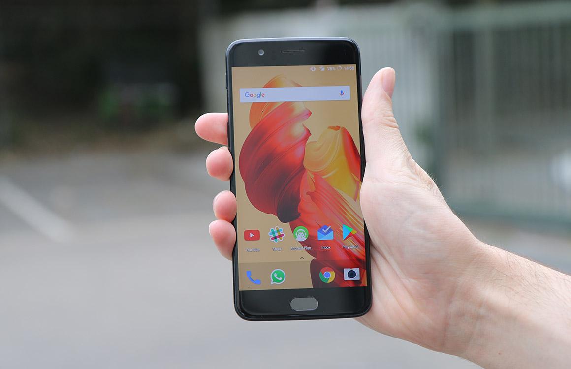 'Volgende OnePlus 5-update verbetert accu aanzienlijk'
