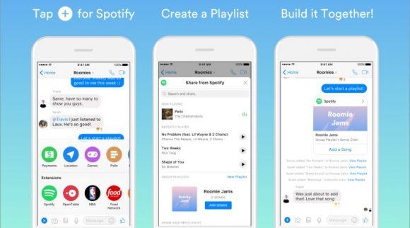 Gezamenlijke Spotify-afspeellijsten