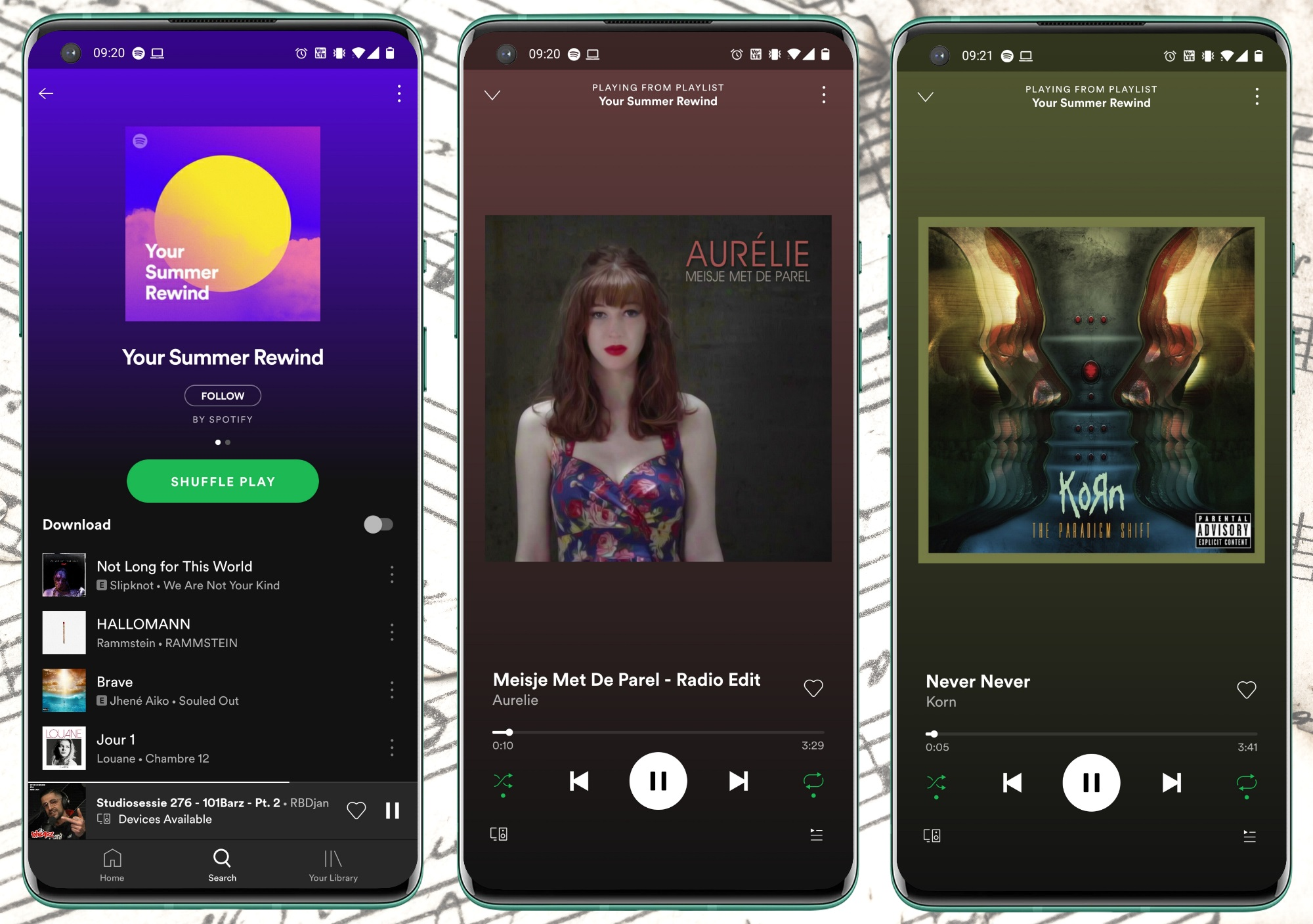 Spotify - Your Summer Rewind