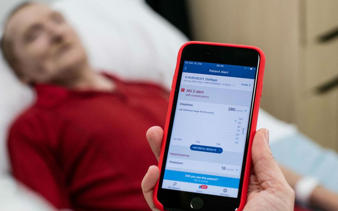 Met deze app vormt Google DeepMind het ziekenhuis van de toekomst