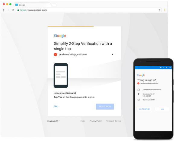 Google Prompt veiliger