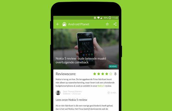 Android nieuws #27: Nokia 5 review en Galaxy Note-design